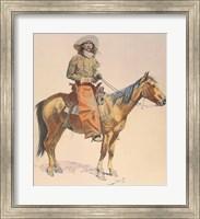 Framed Arizona Cowboy