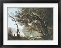 Framed Souvenir de Mortefontaine