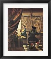 Framed Artist's Studio