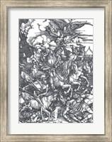Framed Four Horsemen of the Apocalypse