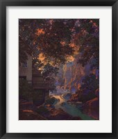 Framed Old Oak Glen