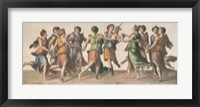 Framed Dance of the Muses