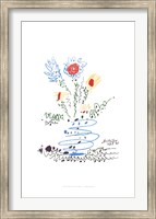 Framed Summer Bouquet