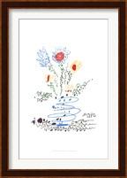 Framed Summer Bouquet
