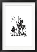 Don Quixote, 1955 Framed Print