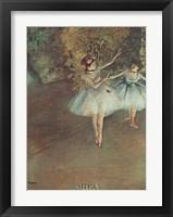 Framed Two Dancers