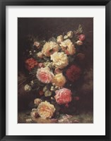 Framed Bouquet de Roses