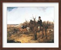 Framed Beaufort Hunt
