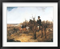 Framed Beaufort Hunt