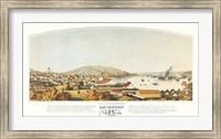 Framed San Francisco, 1849
