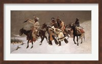 Framed Return of the Blackfoot War Party