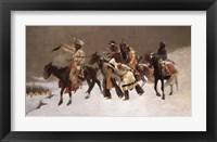 Framed Return of the Blackfoot War Party