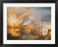 Framed Burning of the Houses of Parliament