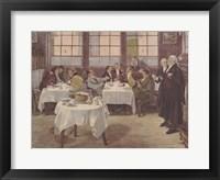 Framed Plaintiff and the Defendant