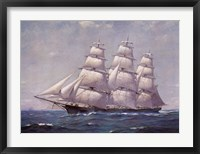 Framed McKay Racer, Sovereign of the Seas