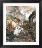 Framed Children of the Mountain