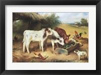 Framed Farmyard Friends, 1920