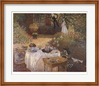Framed Luncheon in the Garden