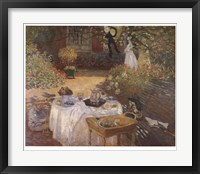 Framed Luncheon in the Garden