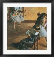 Framed Ballet Class