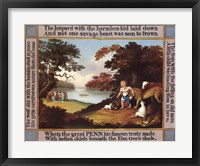 Framed Peaceable Kingdom with Border