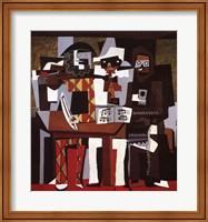 Framed Three Musicians