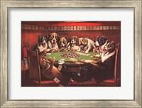 Framed Poker Sympathy
