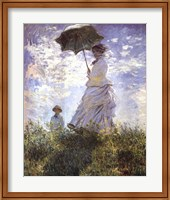 Framed Madame Monet and Her Son