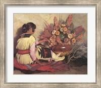 Framed Crucita, a Taos Indian Girl