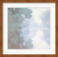 Framed Seine at Giverny, Morning Mists