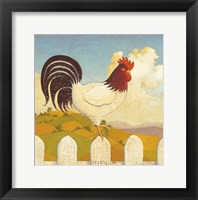 Framed Country Crowers I