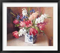 Framed Tulips and Stock