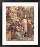 Framed School of Athens (Detail, Left)