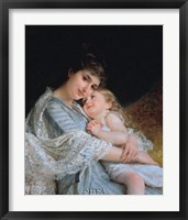 Framed Maternal Affection