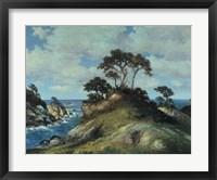 Framed Coast of Monterey