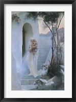 Framed La Maison de la Vierge