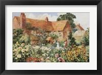 Framed Cottage in Summer