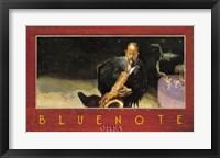Framed Bluenote, Chicago