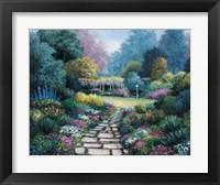Framed Garden Pathway
