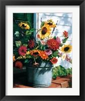 Framed Freshly Cut Flowers
