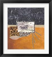 Framed Palace Elephants
