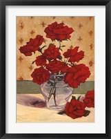 Framed Rue Cler Roses II