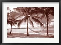 Framed Paradise Lagoon