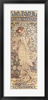 Framed Sarah Bernhardt