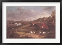 Framed Full Cry