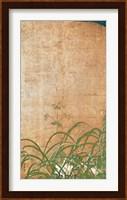 Framed Flowering Plants of Summer - Left