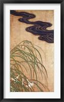 Flowering Plants of Summer - Right Framed Print