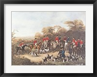 Framed Bury Hunt