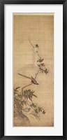 Framed Birds on a Plum Blossom