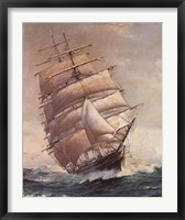 Framed Romance of Sail